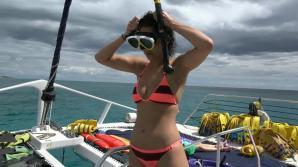 Blair looks sexy in her bikini. It prepares you for the creampie